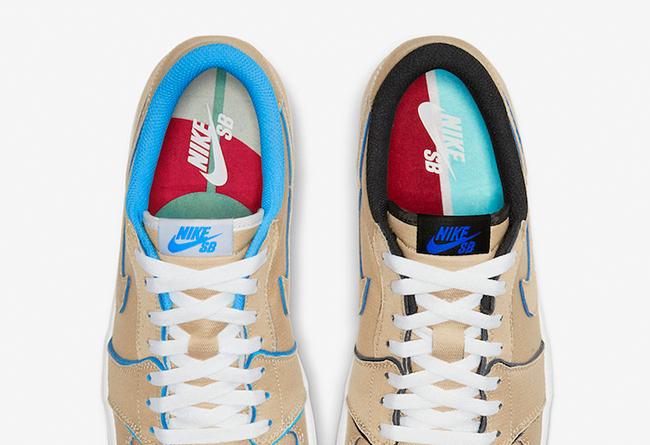 "Nike SB x Air Jordan 1 Low ""Desert Ore"" 货号:CJ7891-200 | 球鞋之家0594sneaker.com"