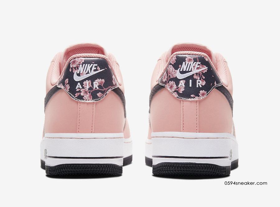 "Nike Air Force 1 ""Pink Quartz"" 樱花粉空军一号2020,货号:CU6649-100 | 球鞋之家0594sneaker.com"