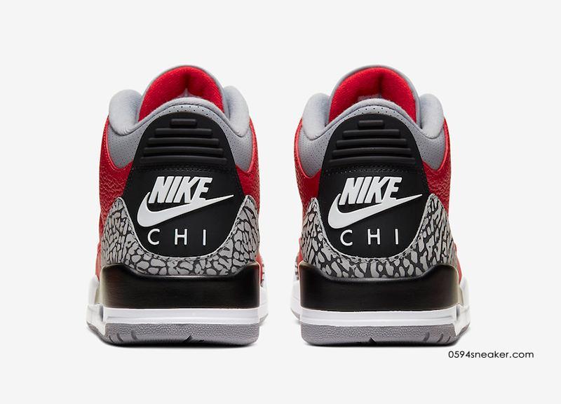 "Air Jordan 3 SE ""NIKE CHI"" 红水泥芝加哥限定版本,货号:CU2277-600 | 球鞋之家0594sneaker.com"