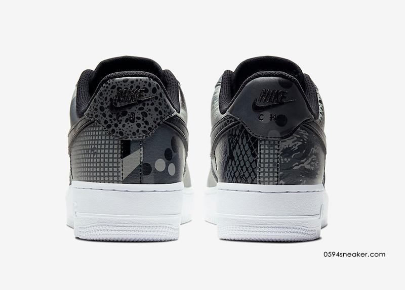 "2020 NBA 全明星芝加哥主题空军一号 Nike Air Force 1 Low ""Chicago"" 货号:CT8441-001   球鞋之家0594sneaker.com"