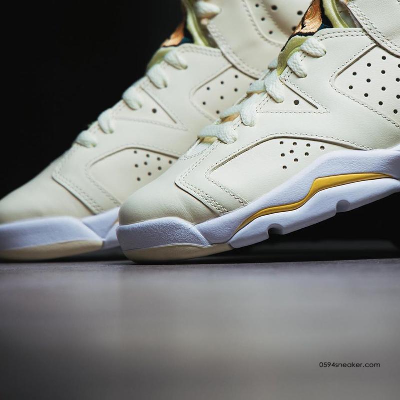 "Air Jordan 6 GS ""Floral"" 货号:543390-800 | 球鞋之家0594sneaker.com"