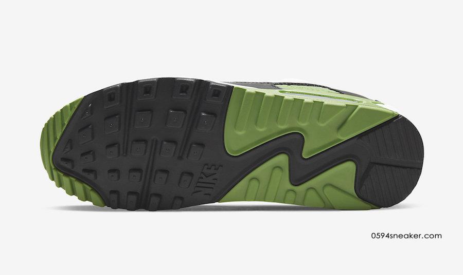 "Nike Air Max 90 ""Chlorophyll"" 货号:CT4352-102"
