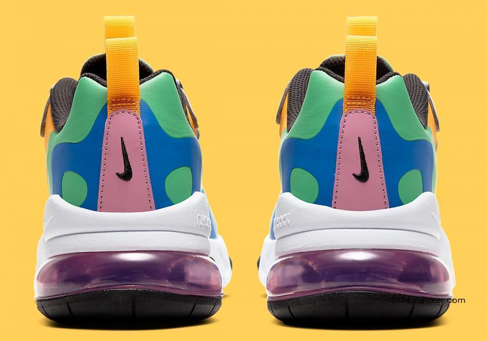Nike Air Max 270 React GS 货号:CU4668-001 | 球鞋之家0594sneaker.com
