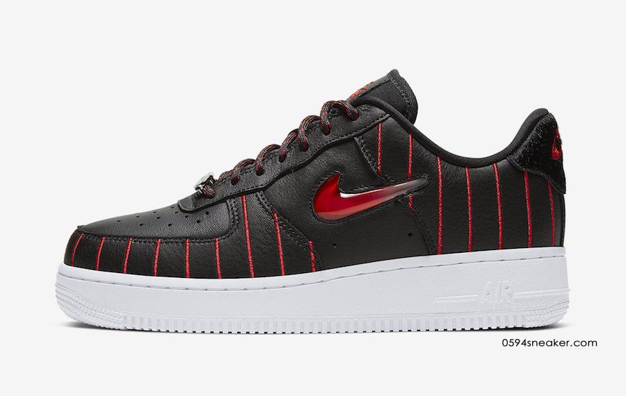 "Nike Air Force 1 Jewel ""Chicago"" 货号:CU6359-001 