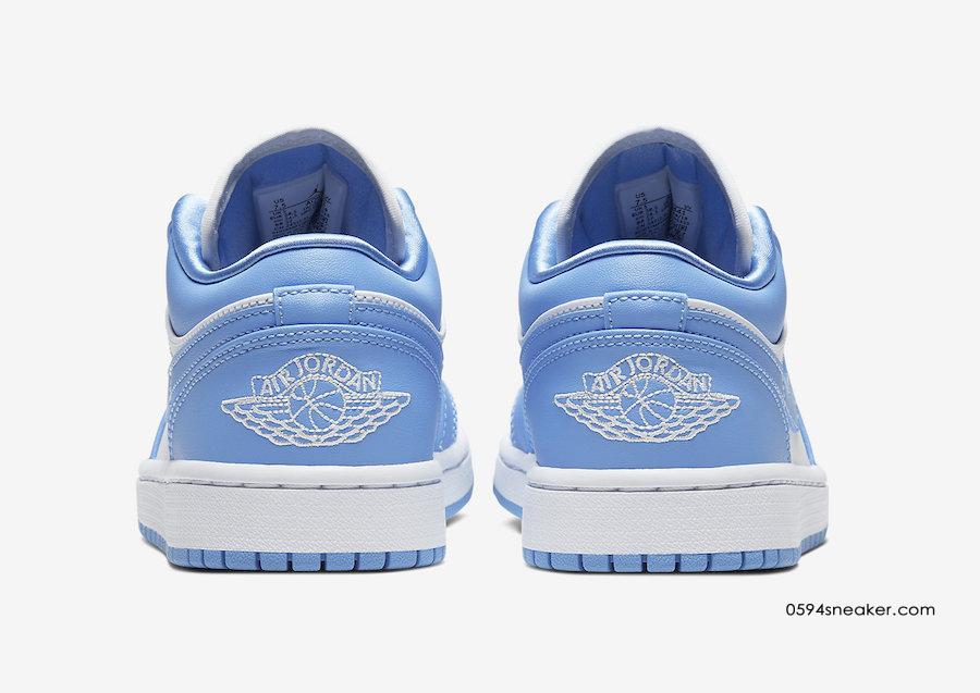 """Air Jordan 1 Low """"UNC"""" 货号:AO9944-441"""