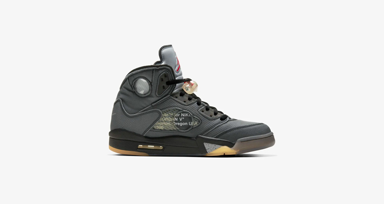 OFF-WHITE x Air Jordan 5 货号:CT8480-001