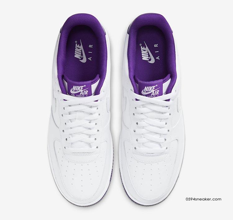 """Nike Air Force 1 Low """"Voltage Purple"""" 货号:CJ1380-100"""