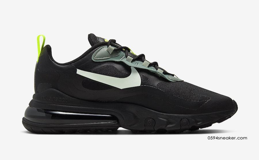Nike Air Max 270 React 货号 CW7474-001