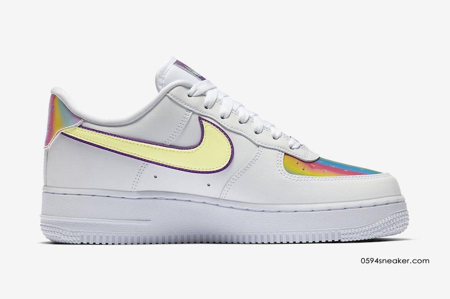 "Nike Air Force 1 ""Easter 2020"" 货号:CW0367-100"
