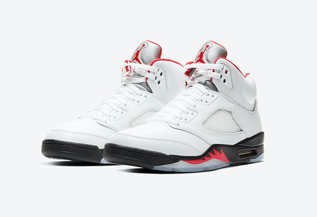 "Air Jordan 5 ""Fire Red"" 货号:DA1911-102"