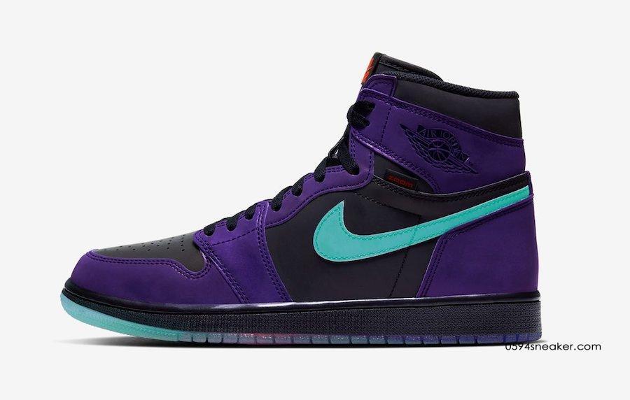 "Air Jordan 1 High Zoom ""Court Purple"" 货号:CT0978-005"