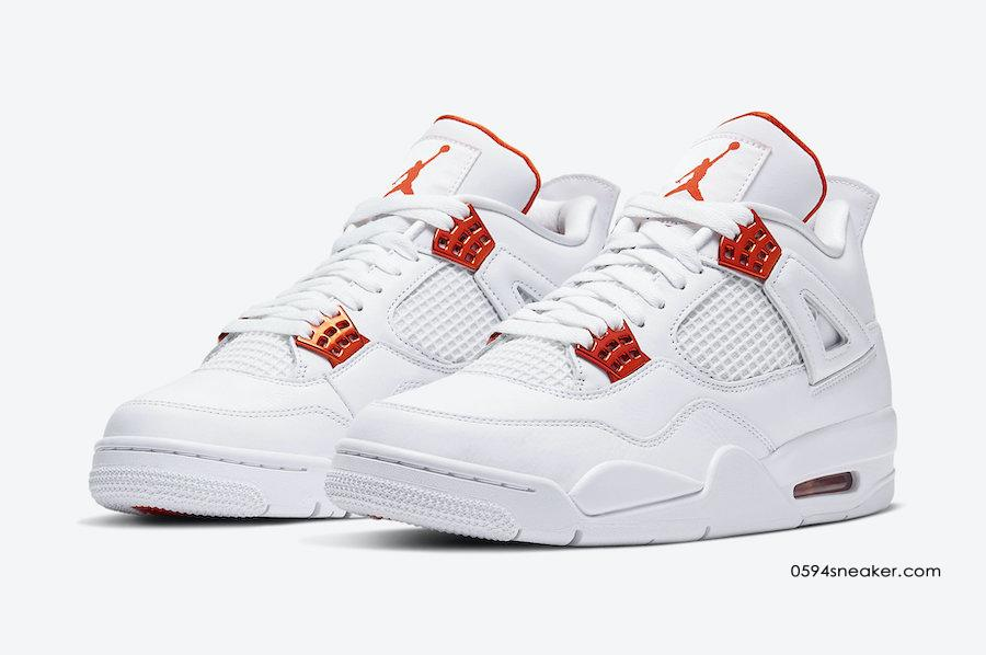 Air Jordan 4 Red Metallic/Orange Metallic 货号:CT8527-112/CT8527-118