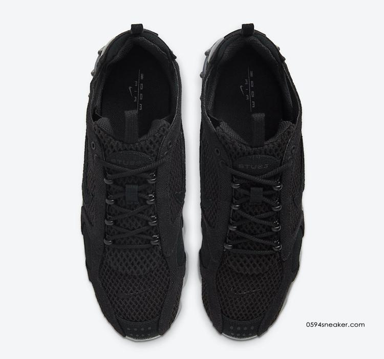 Stussy x Nike Air Zoom Spiridon Cage 2 货号:CQ5486-001