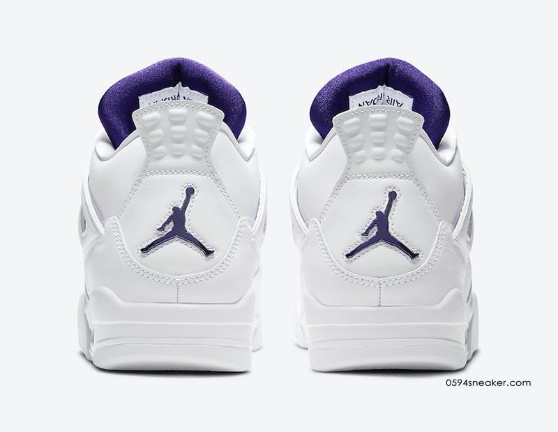 "Air Jordan 4 ""Purple Metallic"" 货号:CT8527-115"