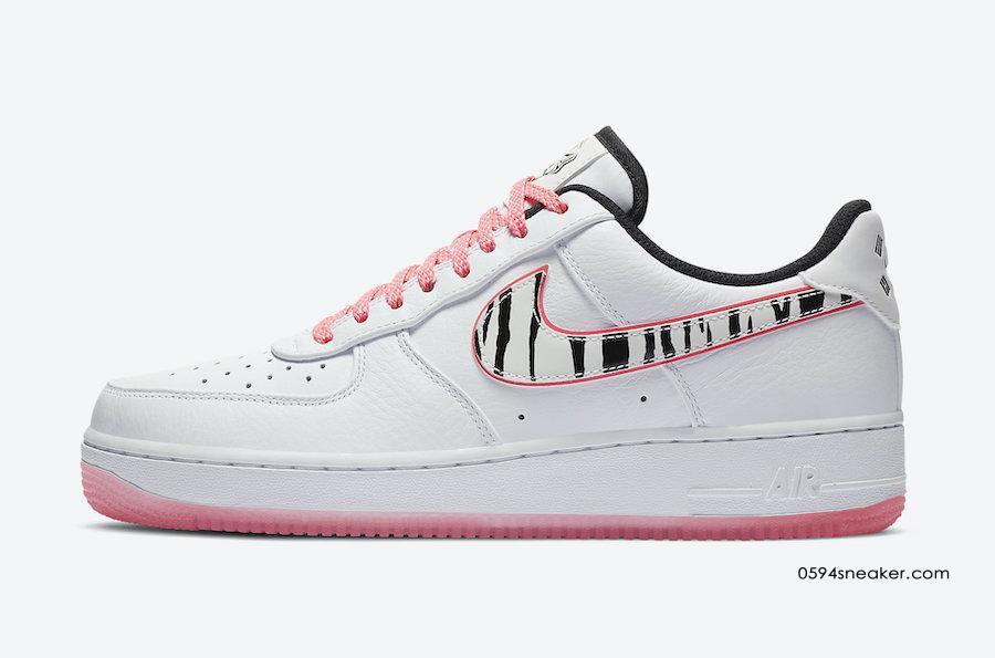 "韩国限定 Nike Air Force 1 Low ""Korea"" 货号:CW3919-100"