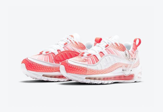 "Nike Air Max 98 ""Bubble Pack"" 货号:CI7379-600"