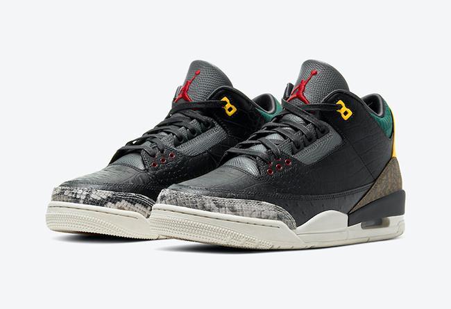 "Air Jordan 3 SE ""Animal Instinct 2.0"" 货号:CV3583-003"