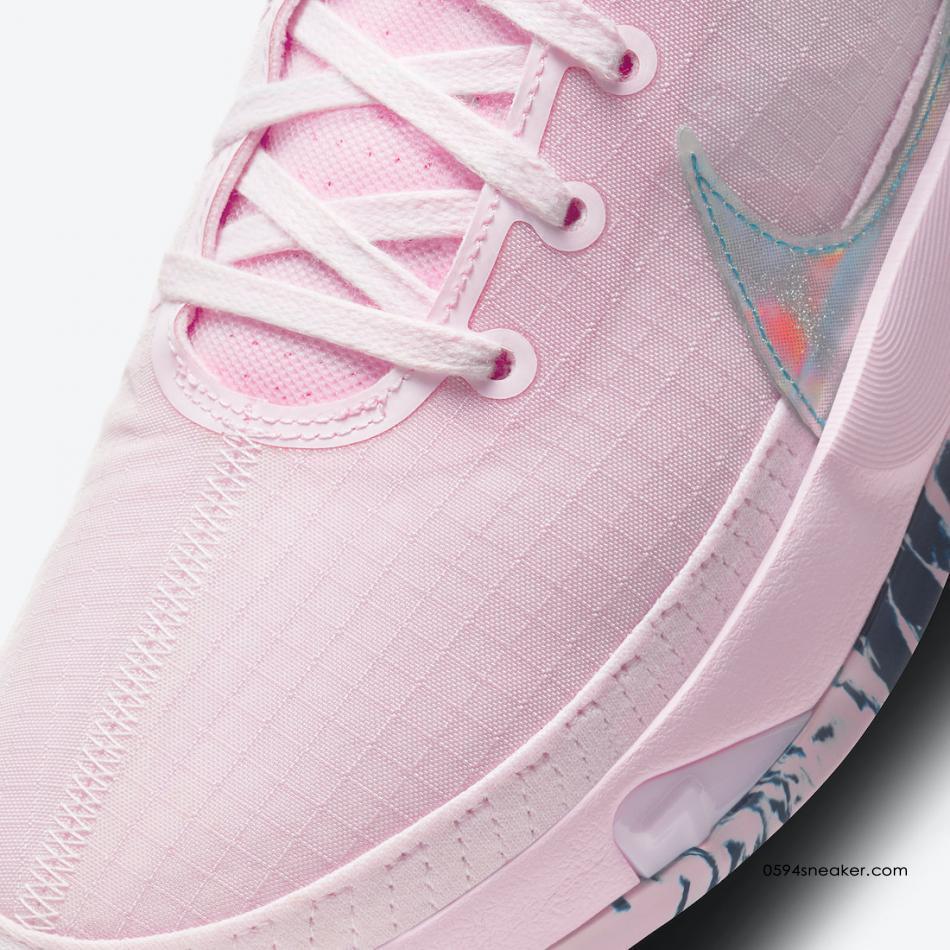 "杜兰特13代乳腺癌主题发售 Nike KD 13 ""Aunt Pearl"" 货号:DC0011-600"