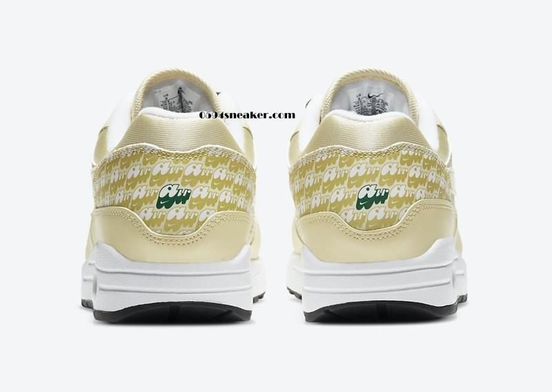 "柠檬配色+3M,Nike Air Max 1 ""Lemonade"" 货号:CJ0609-700"