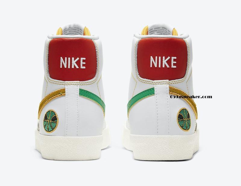 "开拓者外星人配色 Nike Blazer Mid GS ""Raygun"" 货号:DD9528-100"