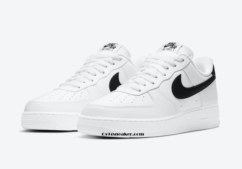 黑钩白板 Nike Air Force 1 Low 货号:CT2302-100