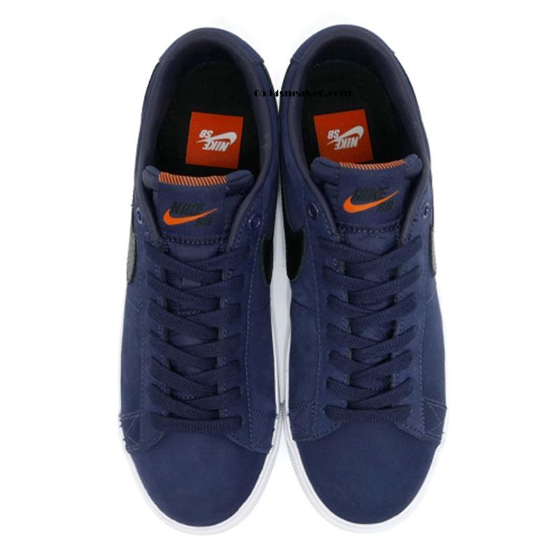 Nike SB Blazer Low GT ISO 货号:CW7462-400 复古海军蓝