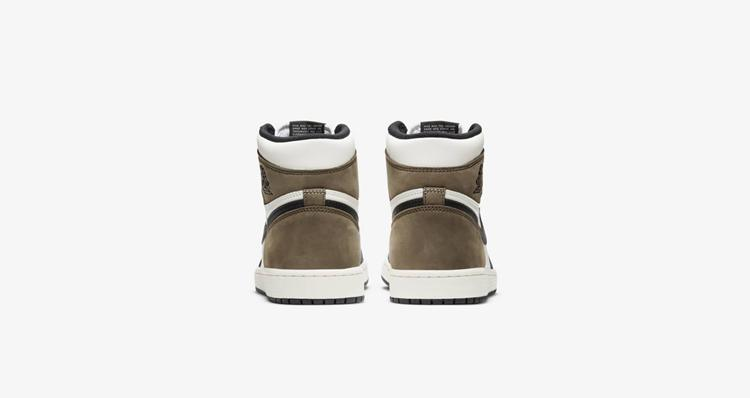 "Air Jordan 1 High OG ""Dark Mocha"" 货号:555088-105"