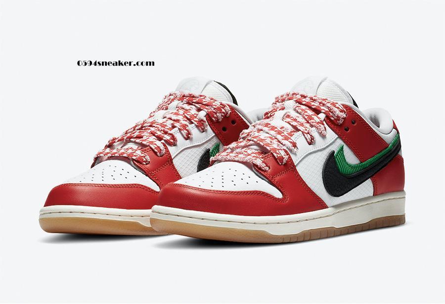 """Frame Skate x Nike SB Dunk Low """"Habibi"""" 货号:CT2550-600"""