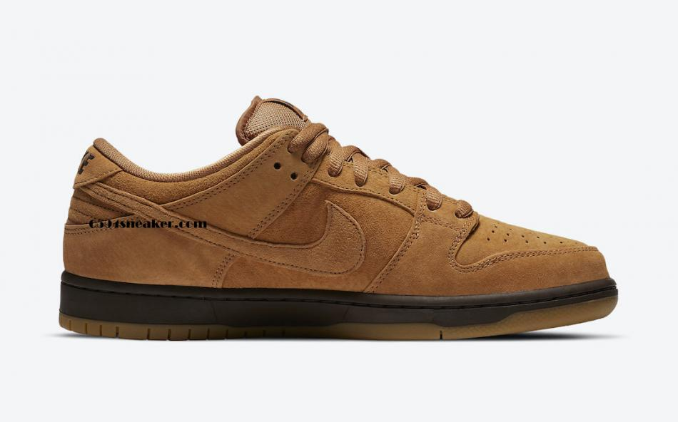 "小麦摩卡 Nike SB Dunk Low ""Wheat Mocha"" 货号:BQ6817-204"