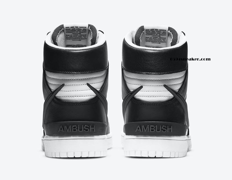 大钩子!AMBUSH x Nike Dunk High 货号:CU7544-001