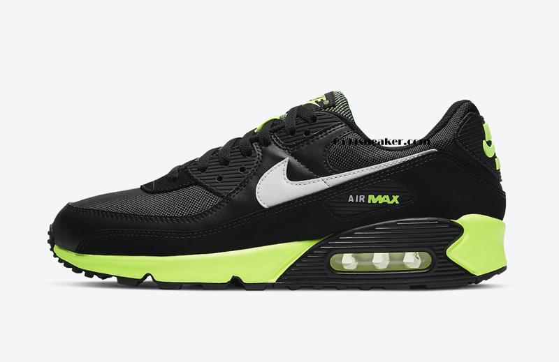 "Nike Air Max 90 ""Hot Lime"" 货号:DB3915-001"