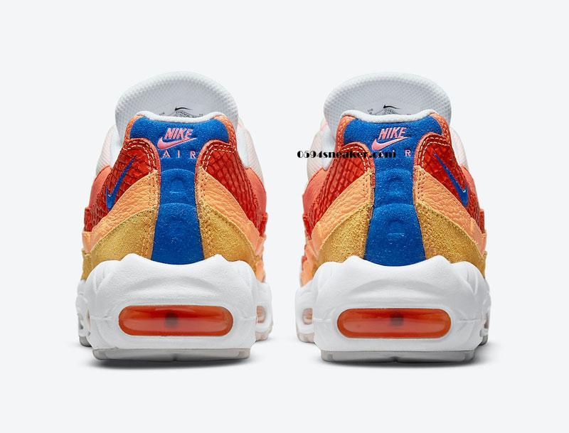 "Nike Air Max 95 ""Campfire Orange"" 货号:DJ6906-800"