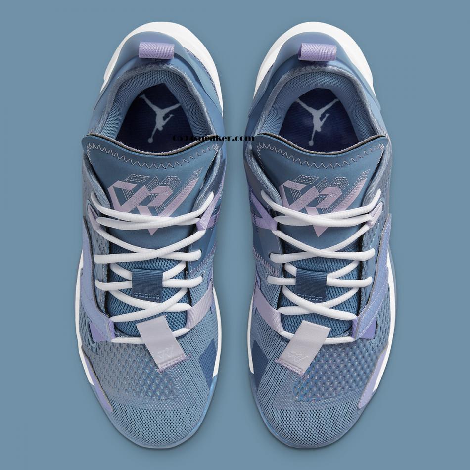 威少签名鞋 Jordan Why Not Zer0.4 货号:CQ4230-400
