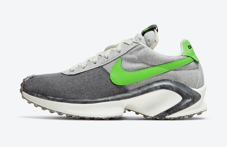 "Nike D / MS / X Waffle ""Mean Green"" 货号:CW6914-001"