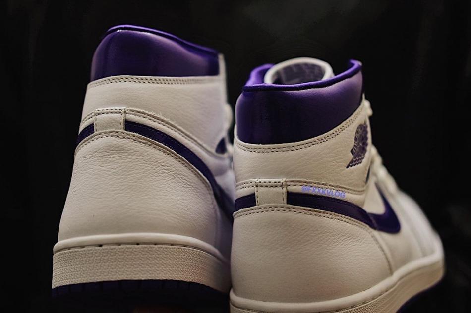 """「恶人紫」 白紫 AJ1 Air Jordan 1 High OG WMNS """"Court Purple"""" 货号:CD0461-151"""