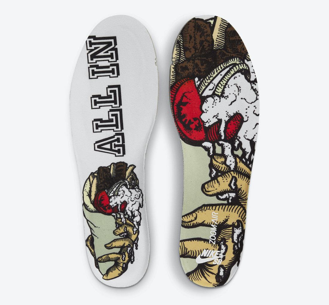 """Color Skates x Nike Dunk Hi """"Kebab & Destroy"""" 货号:CZ2205-700"""