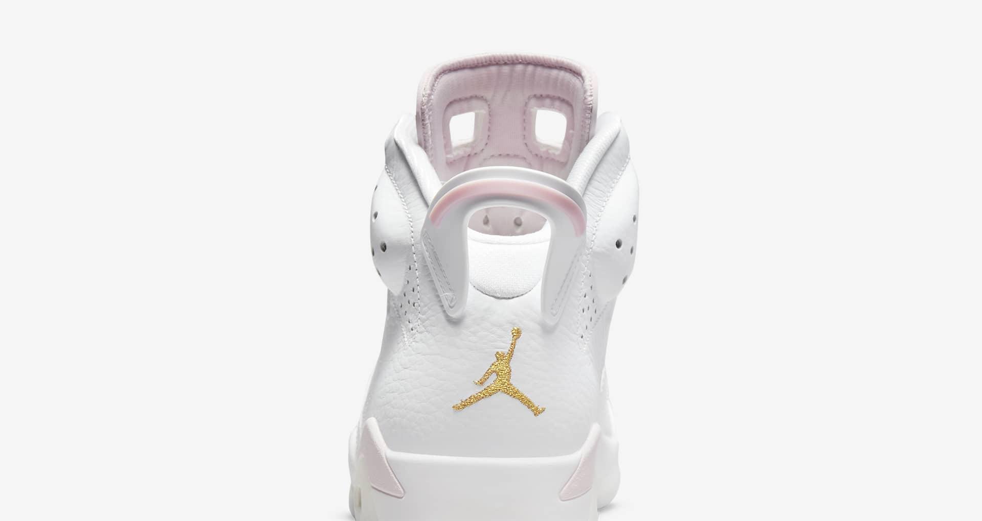 "Air Jordan 6 WMNS ""Gold Hoops"" 货号:DH9696-100"