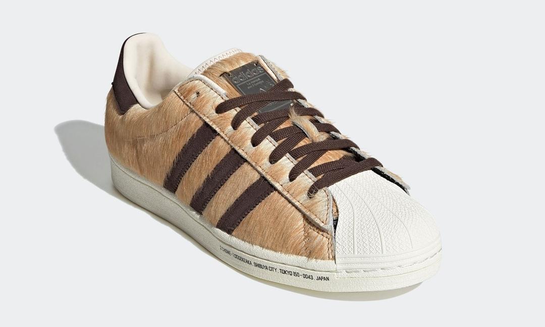 """atmos x adidas Suprestar DOG """"HACHIKO"""" 货号:GW3471"""